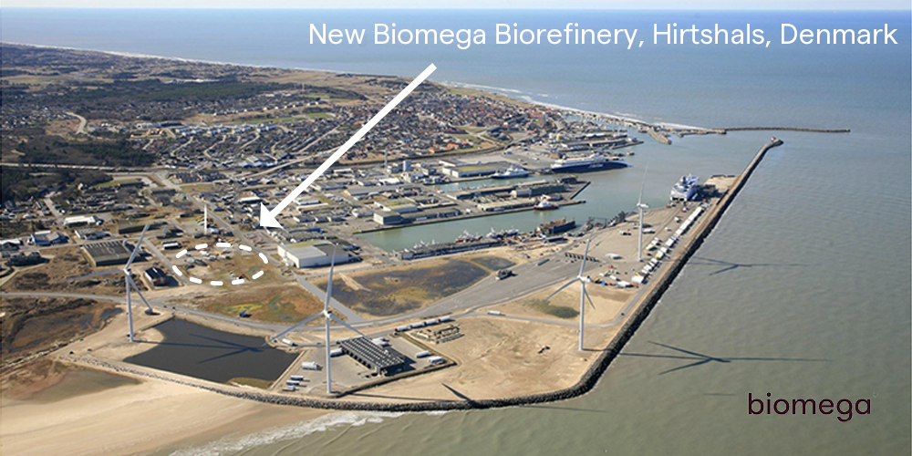 Biomega Group invests in new biorefinery in Denmark to support growth in Human Health & Nutrition